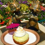 It's HERE! The Dole Whip-Inspired Donut Debuts in Disneyland!