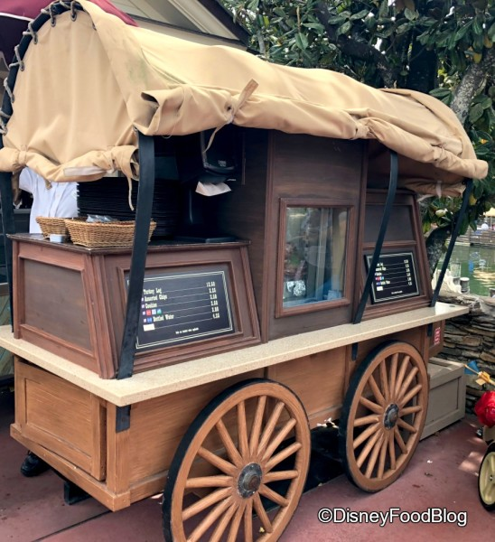 Liberty Square Turkey Leg Cart