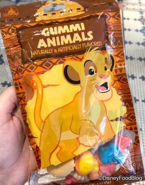 The Lion King Gummi Animals