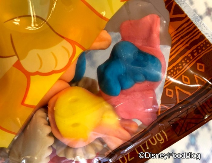 The Lion King Treats Gummi Animals