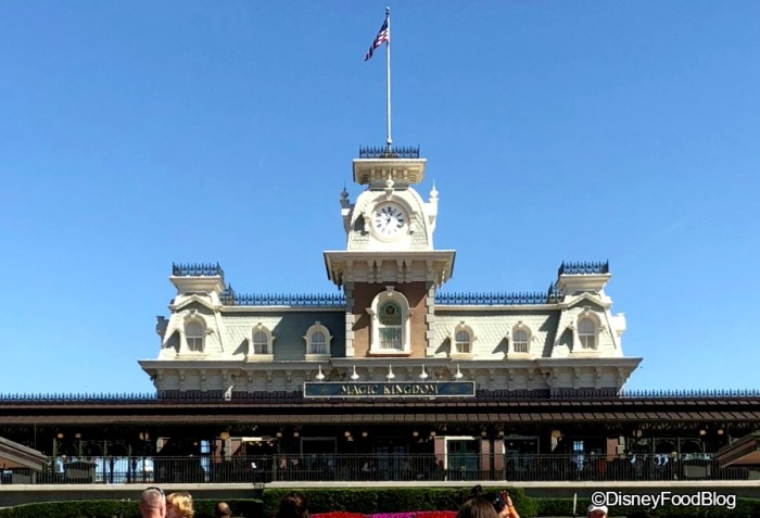Welcome to the Magic Kingdom!