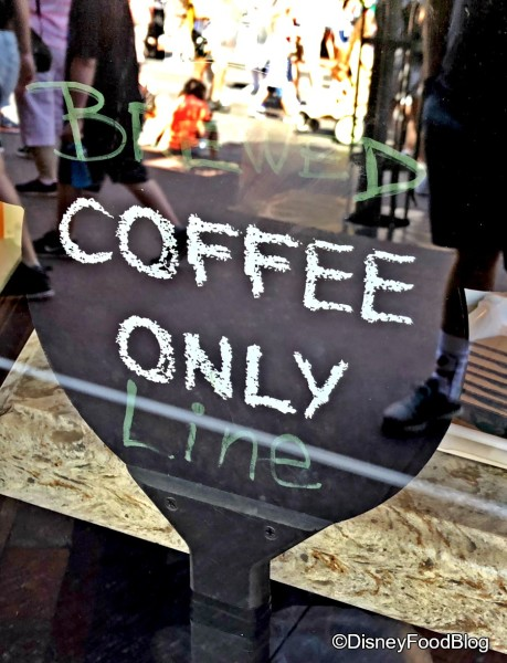 Main Street Bakery Brewed Coffee Only Line