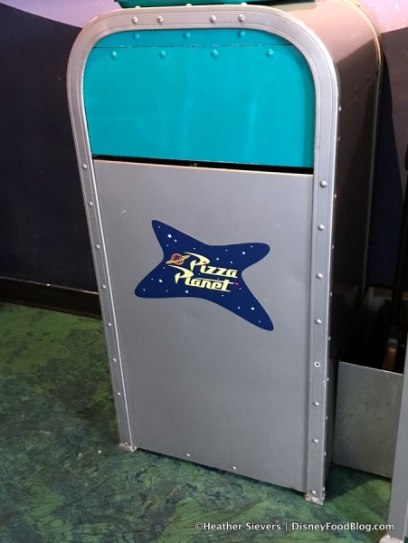 Pizza Planet Trash Can