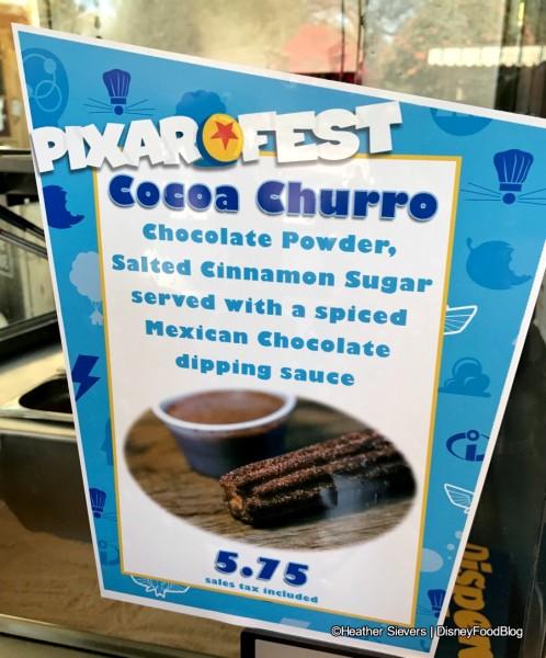 Cocoa Churro