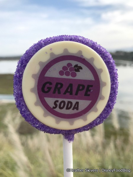 Grape Soda Cake Pop