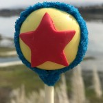 Pixar Fest Eats: Pixar Ball and Grape Soda Cake Pop!