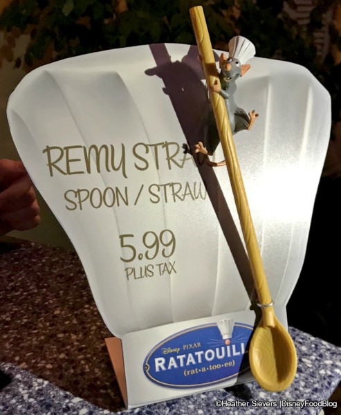 Remy Straw/Spoon Souvenir