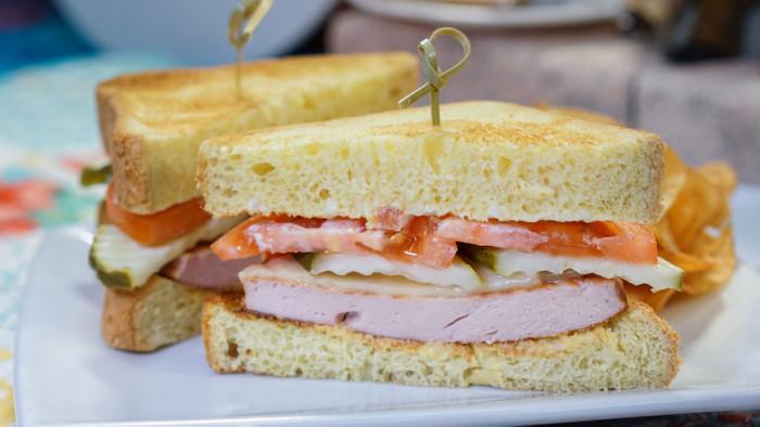 Fried Bologna Sandwich ©Disney