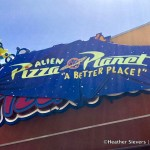 Review: Alien Pizza Planet for Disneyland's Pixar Fest!