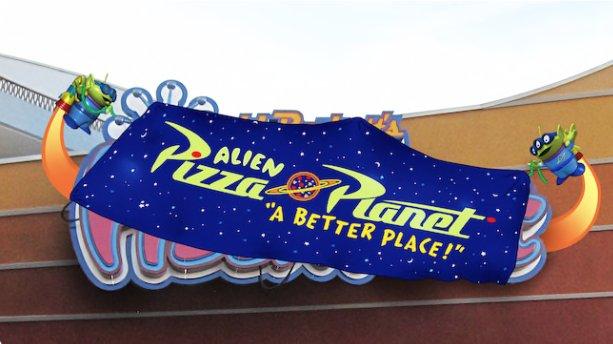 Alien Pizza Planet ©Disney