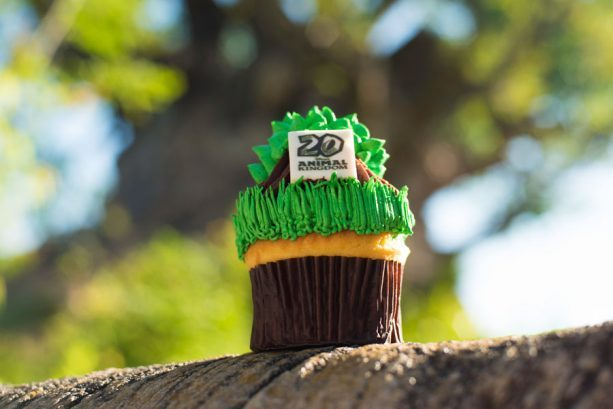 Animal Kingdom 20th Anniversary  Cupcake ©Disney