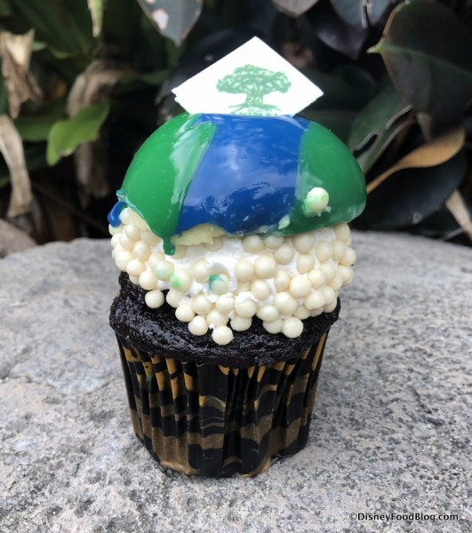 Earth Day Cupcake