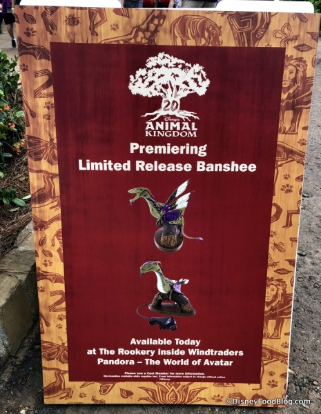 Limited Edition Banshee sign