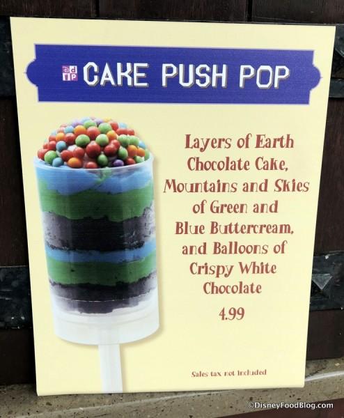 Cake Push Pop