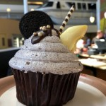 """Please Stand Clear of My Monorail Cupcake…"" at Disney World's Contemporary Resort"