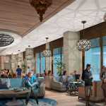 Concept Art for Concierge Club-Level Lounge (and More) Coming to Disney World's Coronado Springs Resort
