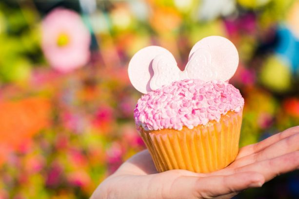 Millennial Pink Cupcake at Fountain View ©Disney