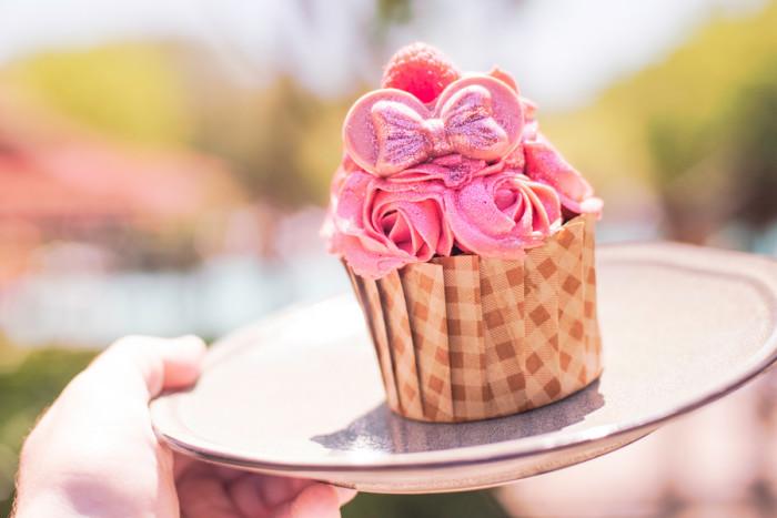 Millennial Pink Cupcake at The Mara ©Disney