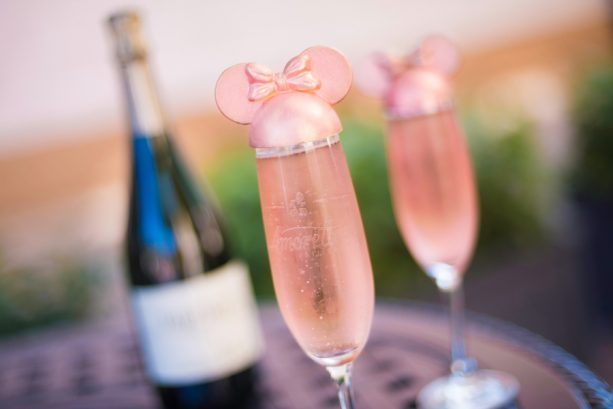 Millennial Pink Celebration Toast ©Disney