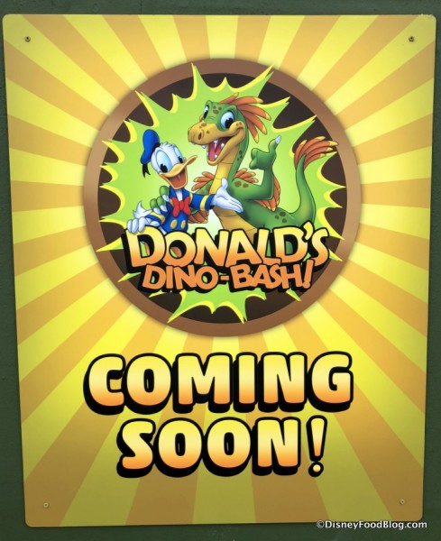 Donald's Dino-Bash! Coming Soon