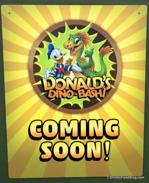 Donald's Dino-Bash! Coming Soon
