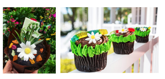 Earth Day Cupcakes ©Disney