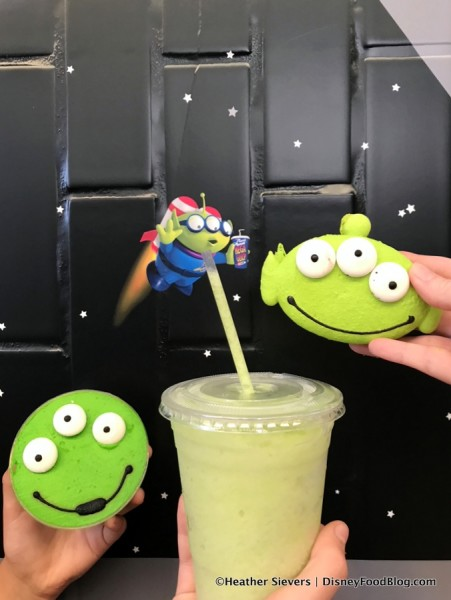 Alien Pizza Planet Desserts and Slush