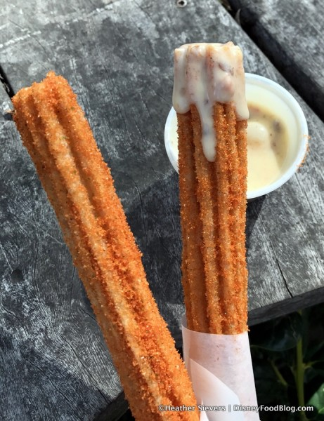 Carrot Cake Churros
