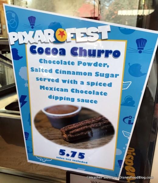 Cocoa Churros