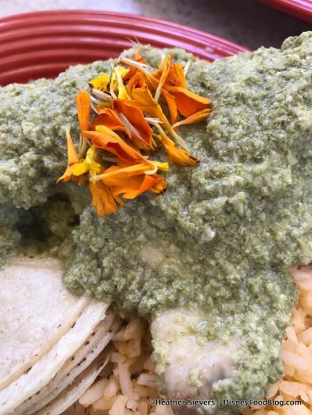 Mole Verde con Pollo