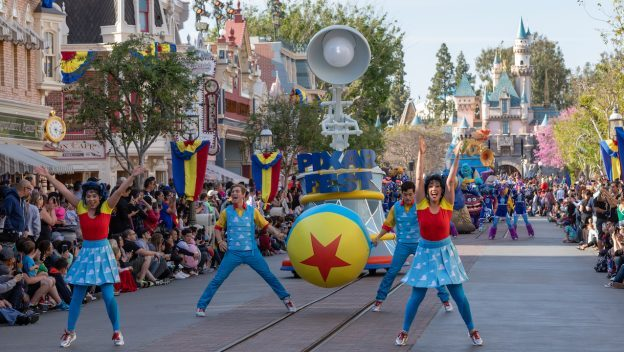 Pixar Play Parade ©Disney