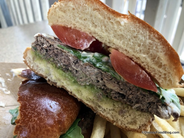 Earth Day Impossible Burger