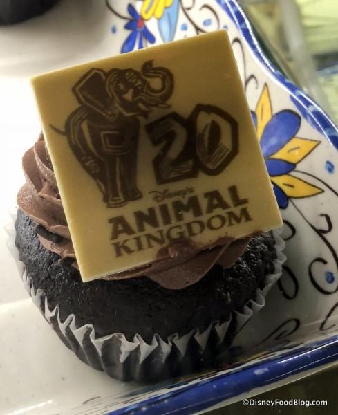 20th Anniversary Cupcake at Zuri's