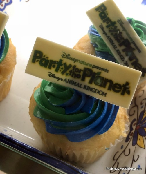 Party for the Planet Cupcake at Zuri's