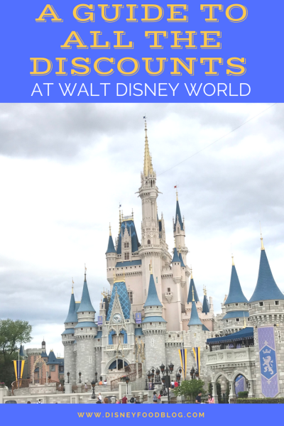 A Guide to ALL the Discounts at Walt Disney World!