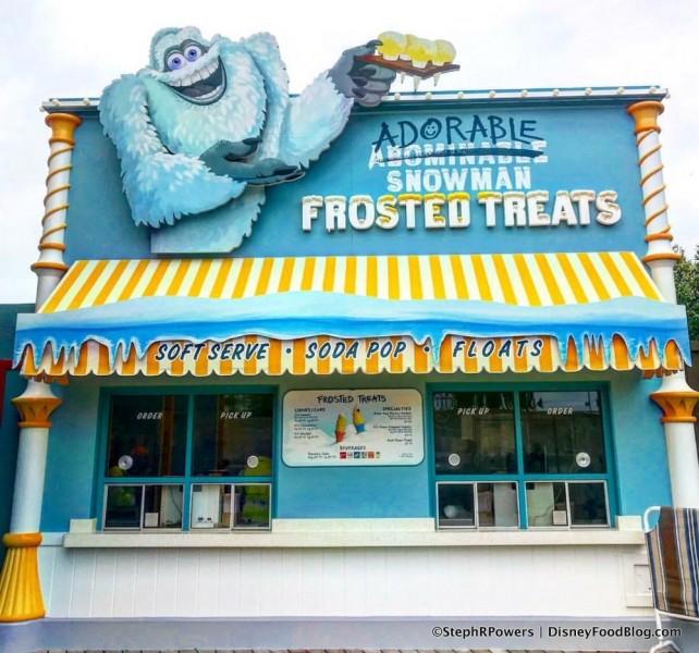 Adorable Snowman is OPEN on Pixar Pier!