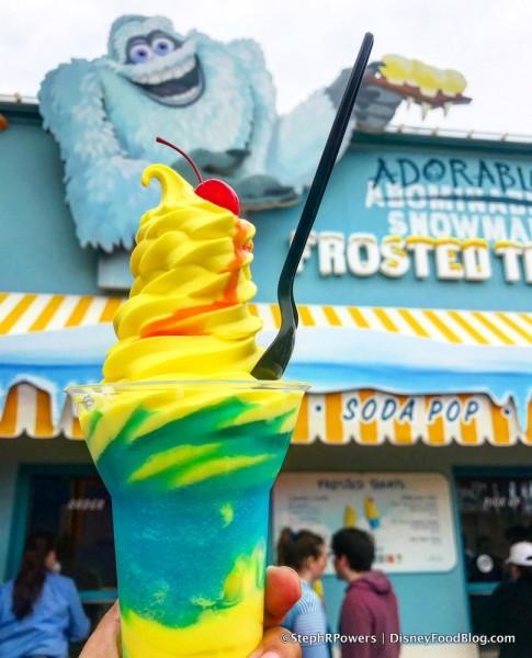 Pixar Parfait at Adorable Snowman Frosted Treats