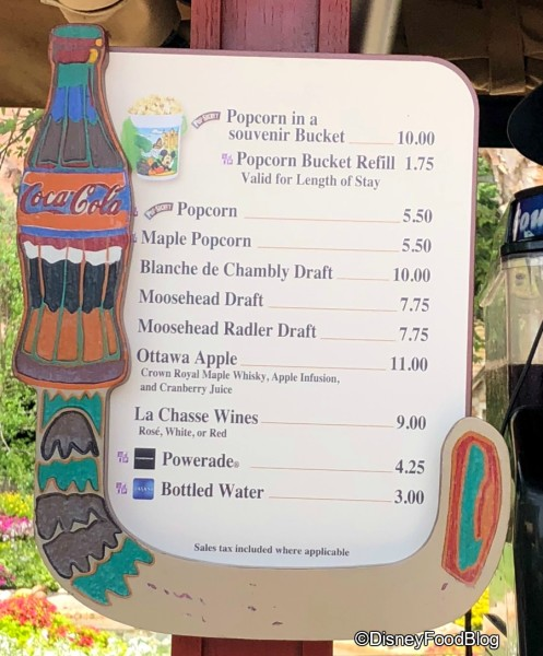 Popcorn Cart Update in the Canada Pavilion
