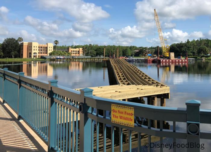 Construction on Lago Dorado