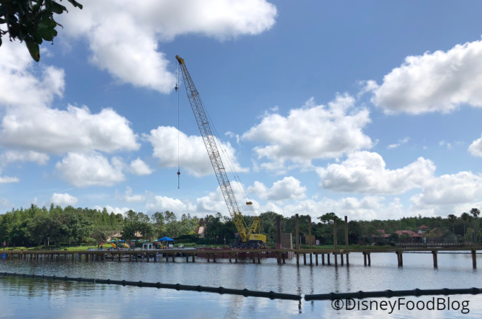 Construction on Lago Dorado