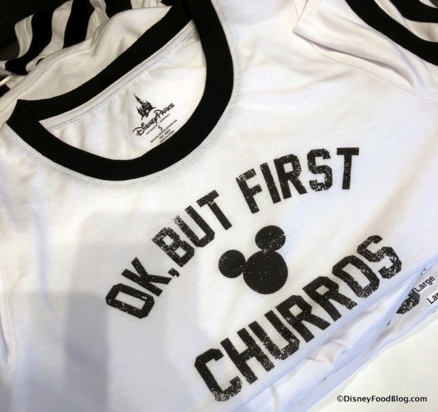 OK But First Churros T-Shirt at Disney Style Store