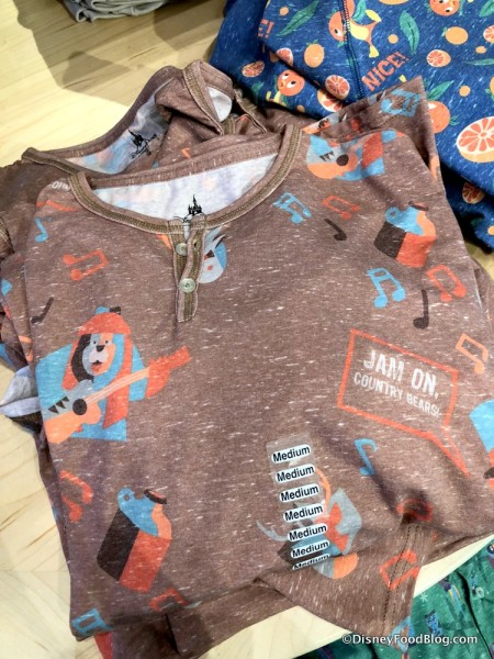 Country Bears Shirt at Disney Style Store