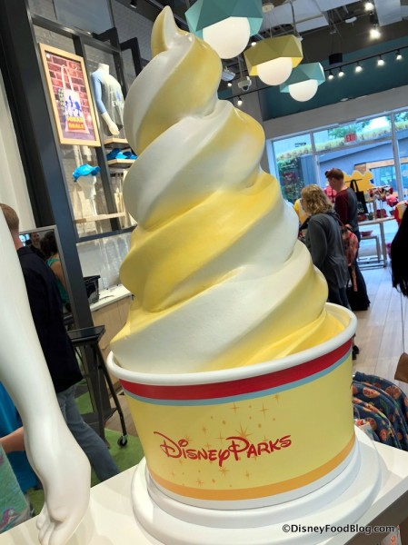 Giant Dole Whip at Disney Style Store