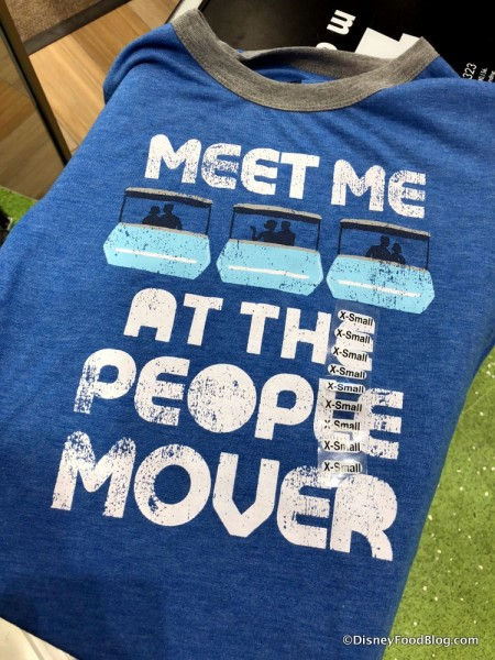 Meet Me At the People Mover T-shirt at Disney Style Store