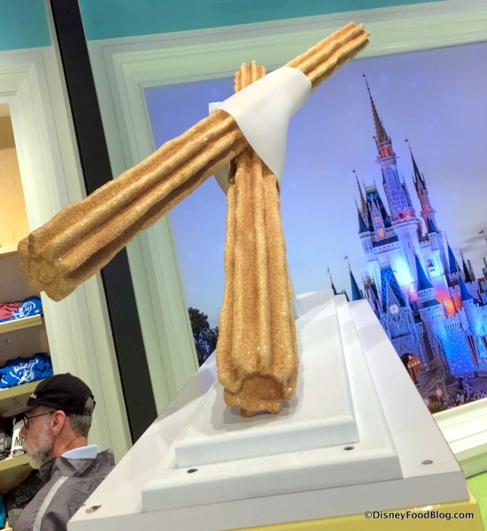 Giant Churros at Disney Style Store