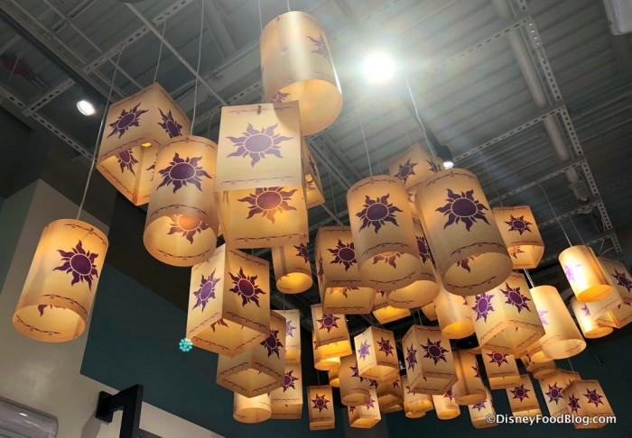 Tangled Lantern Chandeliers at Disney Style Store
