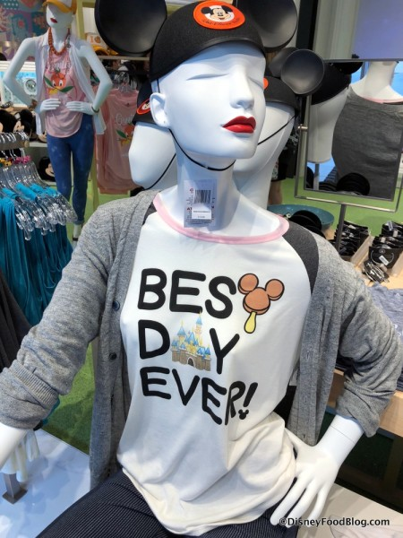 Best Day Ever t-shirt at Disney Style Store