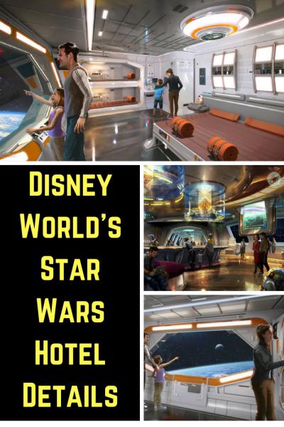 Disney World's Star Wars Hotel Details