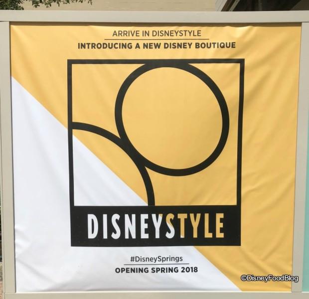 DisneyStyle Signage