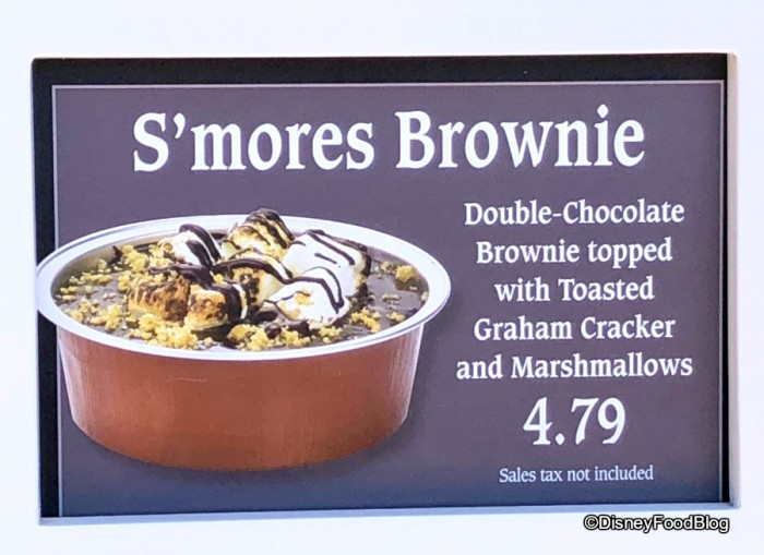 Dockside Diner S'mores Brownie
